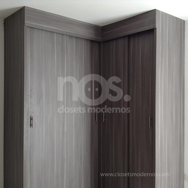 Closet escuadra 4b nos closets modernos for Disenos de zapateras para closet