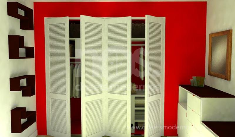 Closet Exterior 5 NOS Closets Modernos