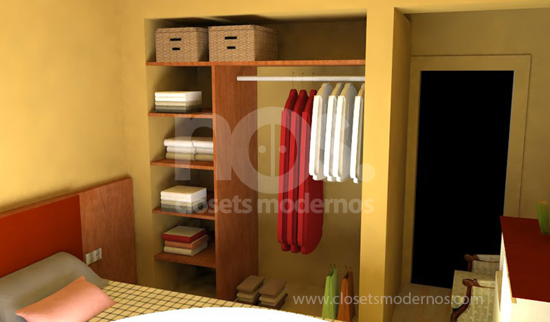 Pin modelos modernos closets yakaz inmobiliario genuardis for Modelos de walk in closet