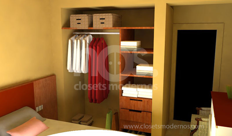 Closet interior 2 nos closets modernos for Interior closets modernos
