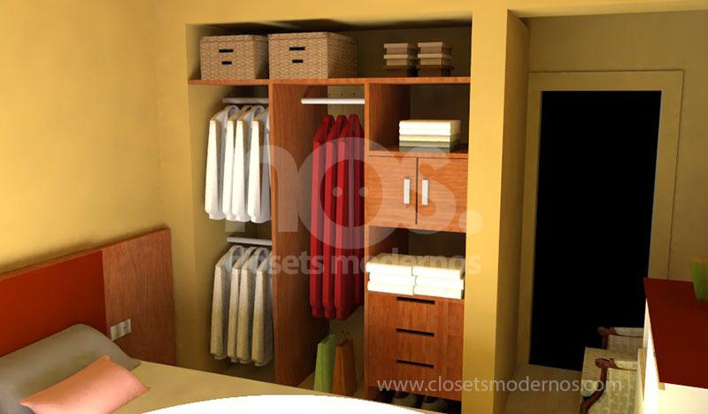 Closet interior 5 nos closets modernos for Interior closets modernos
