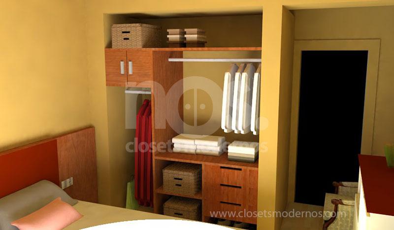 Closet interior 7 nos closets modernos for Ideas para closets modernos