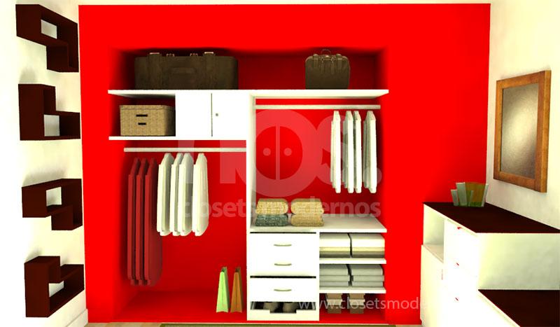 Closet interior 9 nos closets modernos for Closets modernos para parejas