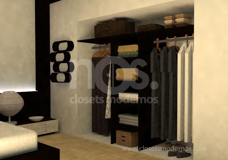 Closet interior 12 nos closets modernos for Interior closets modernos