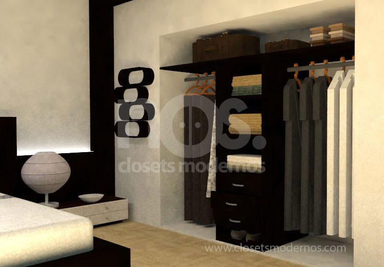 Closet interior 13 nos closets modernos for Interior closets modernos