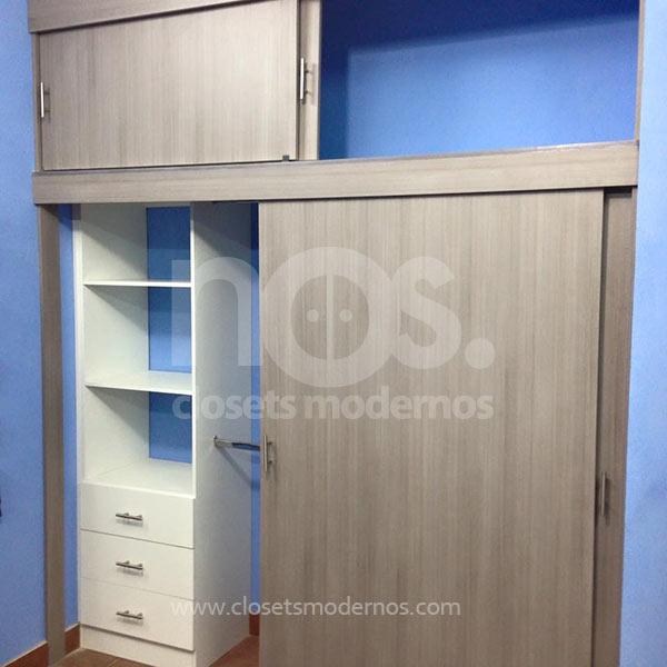 Closets modernos corredizos 12 nos closets modernos for Catalogo de closets modernos