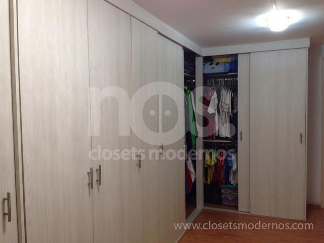 Diseño de Closet Escuadra o Esquina| NOS Closets Modernos