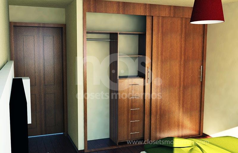 closets de madera exteriores