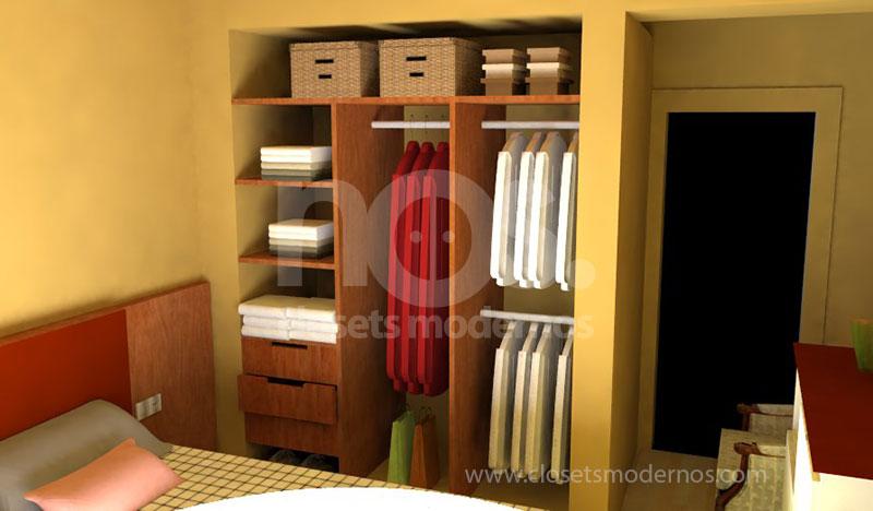 Modelos de closets email estos armarios son ideales para for Modelos de closets para dormitorios modernos