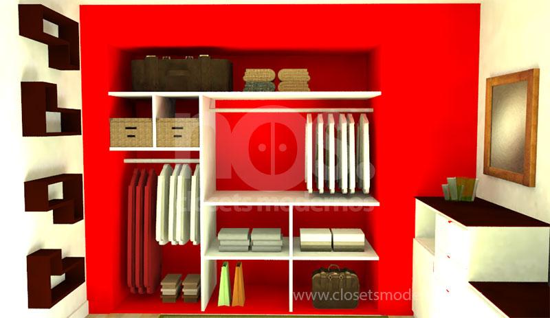 closet para niños moderno pequeño df