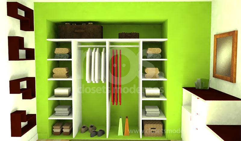 closets baratos interiores