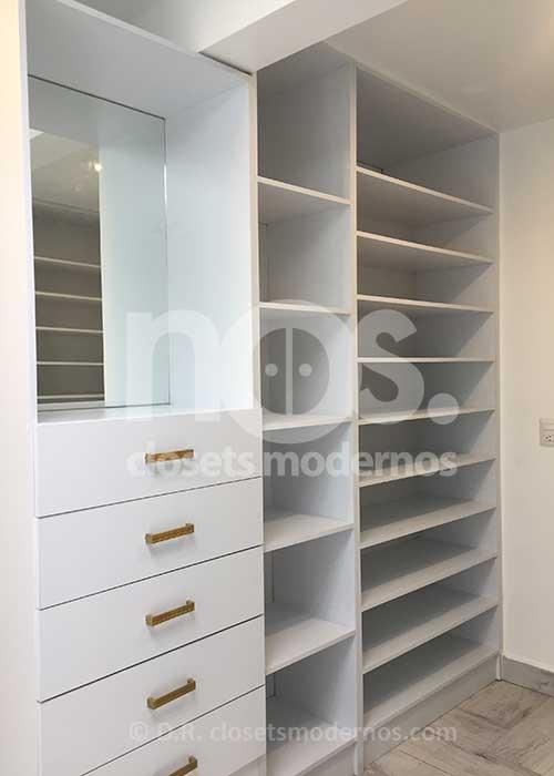 Diseños de Zapateras para Closet
